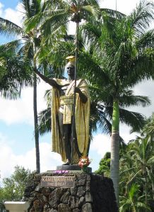Kamehameha_statue_Wailoa_River,_Hilo